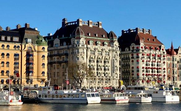 Bild över en kaj i stockholm